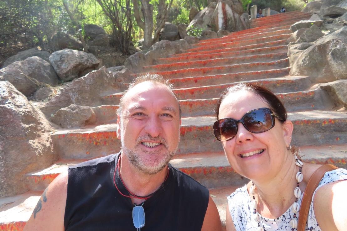 Chamundi steps